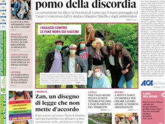 La copertina di Gazzetta d'Alba in edicola martedì 25 maggio
