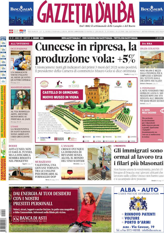 Prima_pagina_Gazzetta_Alba_22_21
