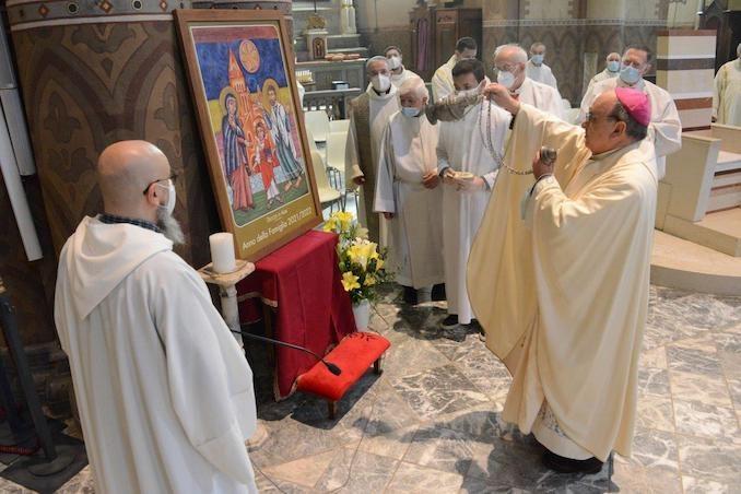 Il Vescovo apre l'Anno della famiglia e accoglie un aspirante al diaconato 9