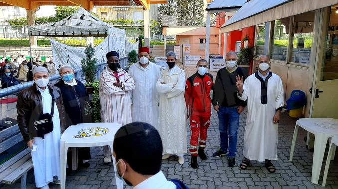 In via Santa Margherita celebrata la conclusione del Ramadan