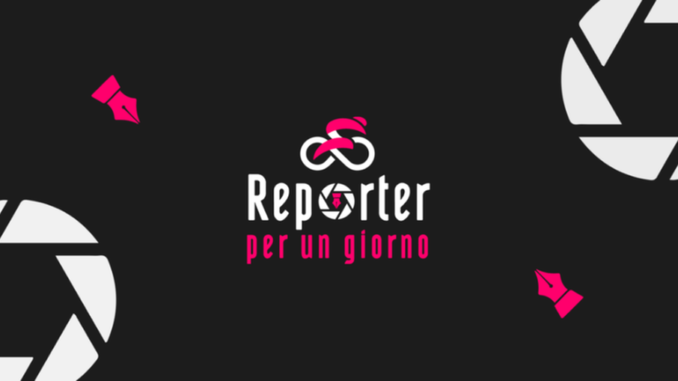 """""""Reporter per un giorno"""" in occasione del Giro d'Italia"""