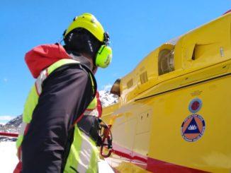 Ceresole Reale: soccorso uno scialpinista coinvolto da una valanga