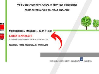 Transizione ecologica e futuro prossimo