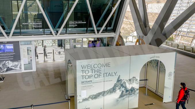 Tecnologia braidese sul monte Bianco ideata all'Abet
