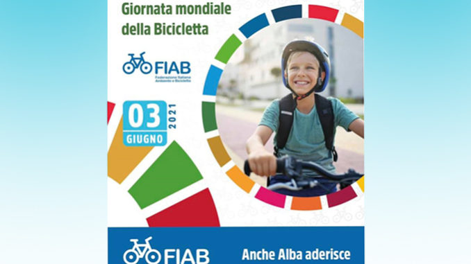 """Alba: """"Tutti a scuola in bici"""" per la Giornata Mondiale della Bicicletta, giovedì 3 giugno"""