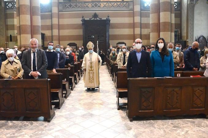 Il Vescovo apre l'Anno della famiglia e accoglie un aspirante al diaconato 10