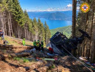Tragedia alla funivia Stresa-Mottarone: il bilancio è di tredici morti e due bambini gravemente feriti