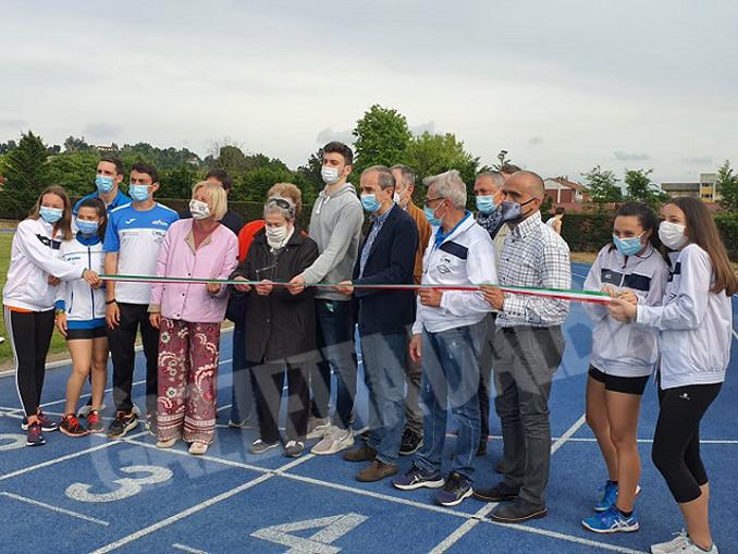 inaugurazione pista atletica Bra