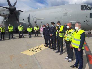 Partita dall'aeroporto di Torino la missione italiana che fornirà ossigeno all'India 2