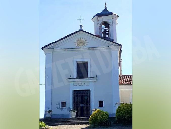 lLa cappella della Santissima Annunziata – località Terlapini