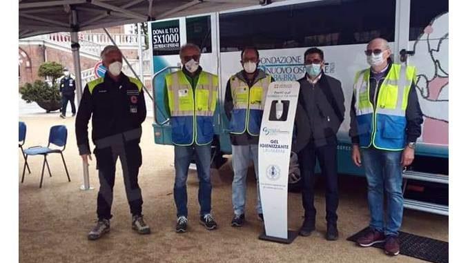 Giornata di vaccinazioni a Monforte grazie all'ambulatorio mobile dell'Asl