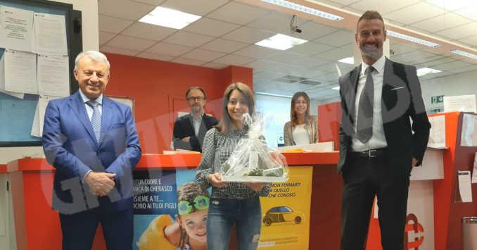 premiazione socio banca cherasco_fb