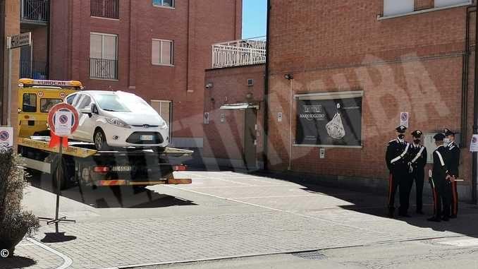 Rapina del Gallo: l'auto dei rapinatori è tornata sulla scena del crimine