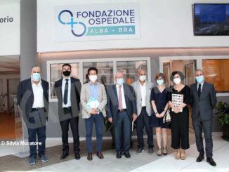 Dall'Asta mondiale del tartufo bianco d'Alba del 2020 40mila euro alla fondazione Nuovo ospedale
