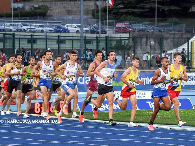 Pietro Riva campione italiano nel mezzofondo