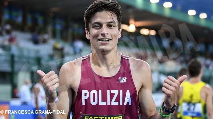 Pietro Riva campione italiano nel mezzofondo 1