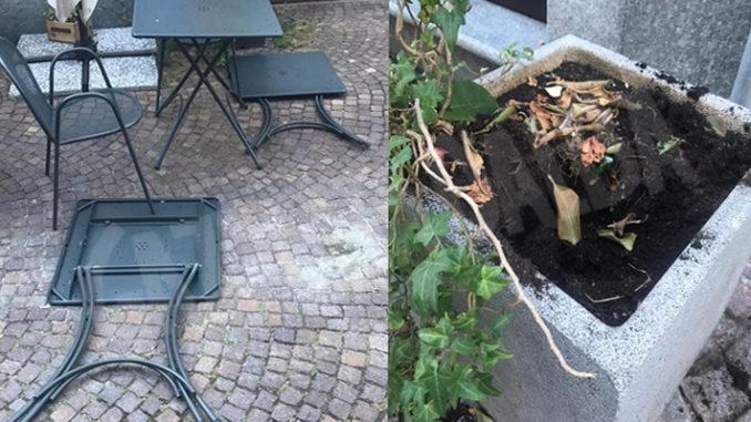Alba: identificati e denunciati i responsabili degli atti vandalici in via Bertero