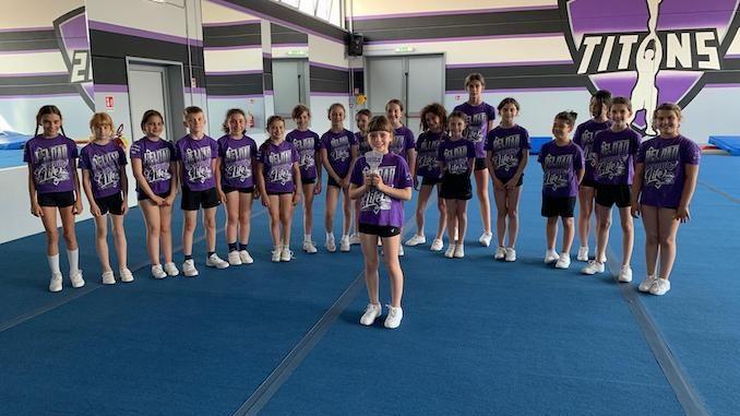 Elisa Bianco del team Little Titans è l'atleta del mese