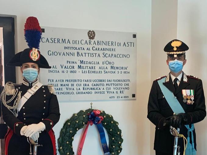 """Caserma dei Carabinieri """"Scapaccino"""" – Asti"""