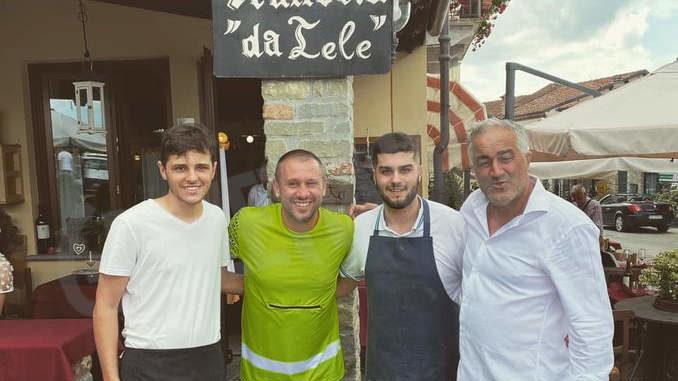 Sabato 26 Antonio Cassano è tornato a Murazzano