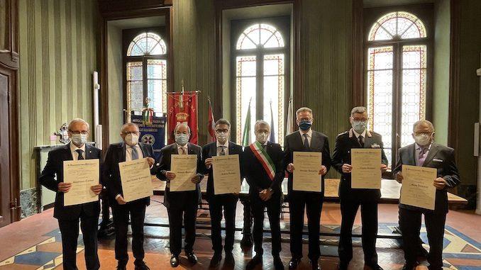 Alba: consegnate le onorificenze dell'Ordine al merito della Repubblica Italiana