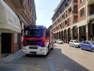 Allarme gas in centro a Bra: sopralluogo dei Vigili del fuoco