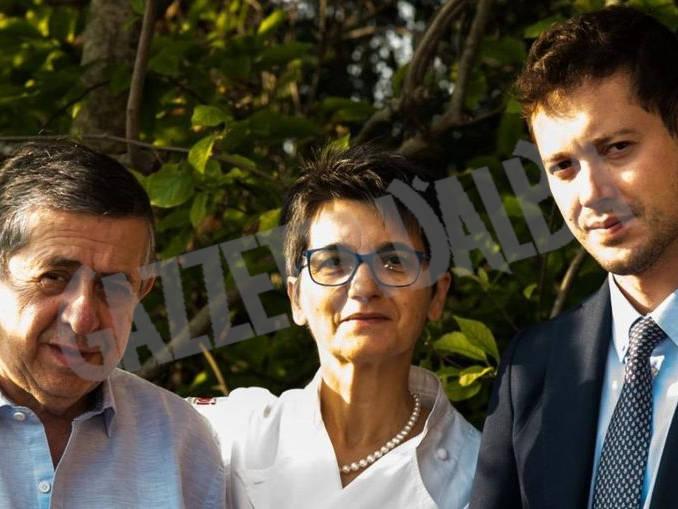 Giampiero Cordero e i genitori