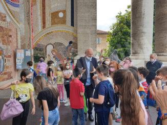 Conclusione dell'anno catechistico per i bimbi dell'Oratorio salesiano di Bra, con pellegrinaggio al Santuario 1