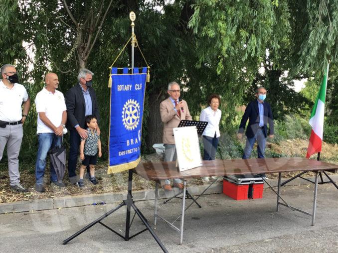 Inaugurato dal Rotary Club Bra il primo bosco urbano della Provincia 3