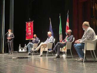 """Alba: il ministro del Turismo Massimo Garavaglia dal palco del Sociale ha annunciato che sarà Alba con Langhe, Monferrato e Roero ad ospitare nel 2022 la """"Global Conference on Wine Tourism"""""""