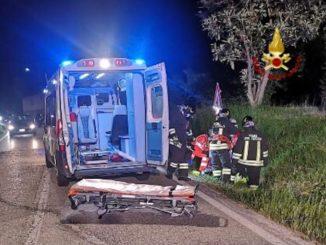 Moto fuori strada a Borgomale: un ferito grave