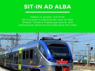 Si terrà sabato 12 giugno, davanti alla stazione di Alba, un sit-in per la riattivazione della ferrovia