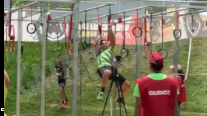 Jakova e Giacone concludono l'Inferno Alp di Prato Nevoso, prova valida per il campionato italiano di Ocr
