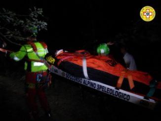 Cade sulle rocce e finisce nell'Orba, escursionista salvata nella notte a Molare