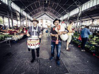 Occit'amo suona la musica dei trovatori nei mercati della Granda