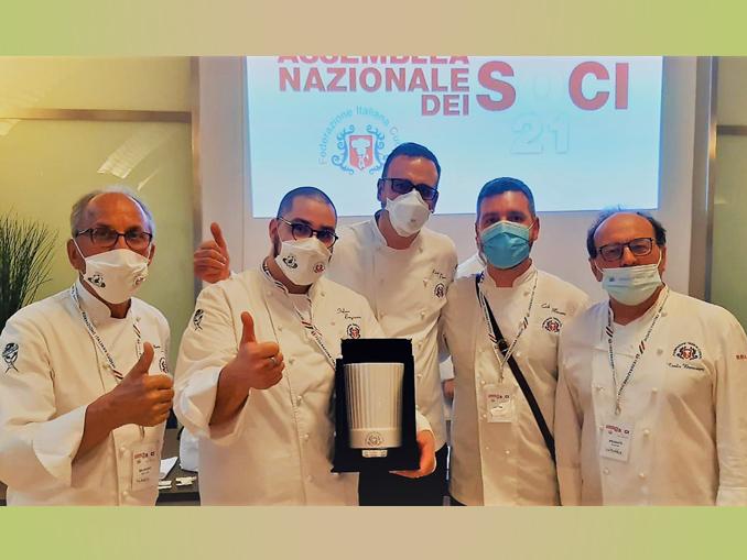 Premiazione dell' Unione regionale cuochi piemontesi a Roma
