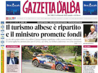 La copertina di Gazzetta d'Alba in edicola martedì 15 giugno