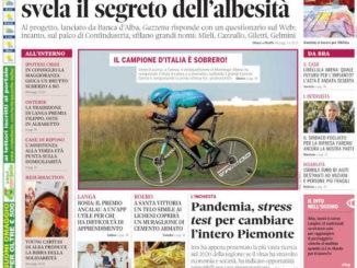 La copertina di Gazzetta d'Alba in edicola martedì 22 giugno