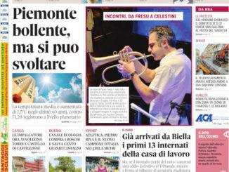 La copertina di Gazzetta d'Alba in edicola martedì 29 giugno
