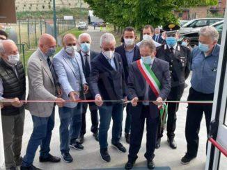 Inaugurato il centro vaccinale realizzato nella palestra di Priocca