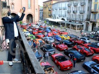 Raduno di Ferrari e Lamborghini ha fatto tappa ad Alba 6