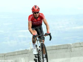 Diego Rosa trentasettesimo sulle rampe del Mont Ventoux 1