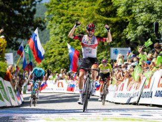 Matteo Sobrero è terzo nella tappa più impegnativa del Giro di Slovenia