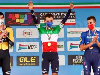 Matteo Sobrero è campione italiano a cronometro!