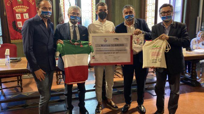 Alba: riconoscimento ai campioni sportivi vincitori di competizioni nazionali