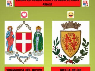 Niella Belbo e Sommariva Bosco in finale nel torneo dei Comuni della provincia di Cuneo