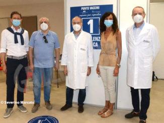Proseguono le vaccinazioni anti Covid-19 all'Aca 1