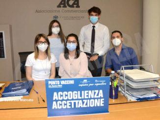 Proseguono le vaccinazioni anti Covid-19 all'Aca 2