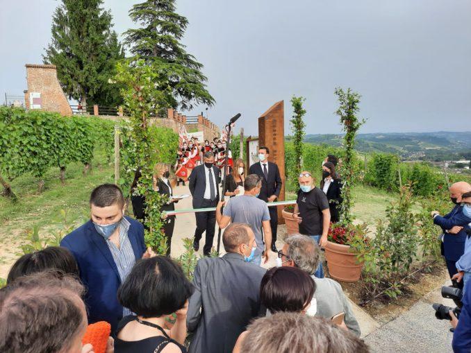 Inaugurato il Museo in Vigna, festeggiando con la musica l