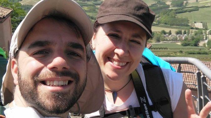 Chiara e Michele in cammino da Torino a Savona
